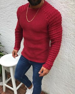 Sweaters Fashion O-neck Spring Autumn Long Sleeved Sweater 2020 Mens Solid