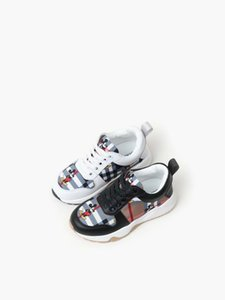 boy shoe basketball sneakers genuine leather vamp little boys running sneakers white color black girl basketball shoe eu 26-35