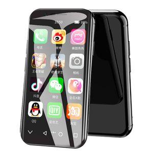 Los teléfonos LTE Pantalla táctil Face ID inteligentes Teléfonos Móviles original SOYES XS Android Super Mini SmartPhones MTK6737 3 GB + 32 GB 5.0MP Dual SIM Pequeño 4G