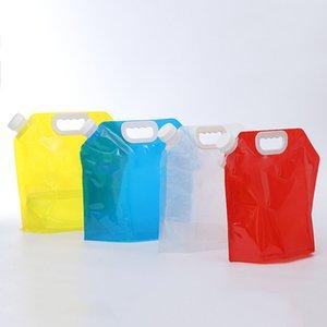 5L открытый складной мешок воды портативная питьевая бутылка Бутылка воды сумка контейнер для переноски воды для кемпинга пешего туризма пикника BH2136 CY