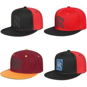 Rolls Royce RR логотип символ эмблема мужская и женская snap back baseballcap стили team Hip Hopflat brimhats Логотип Логотип проблемный синий adag