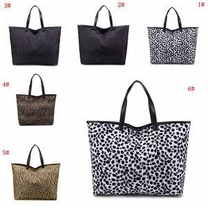 Mode Leopard Handtasche für Frauen Handtasche Große Kapazität Umhängetasche Reißverschluss Lady Tote Bags Hohe Qualität Leopard Frauen Taschen DBC VT0982