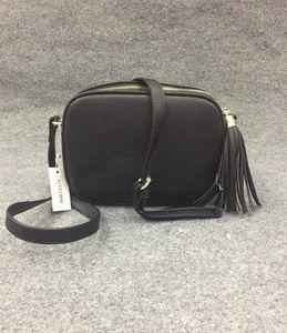 المرأة جلدية سوهو حقيبة ديسكو حقيبة الكتف المحفظة 308364