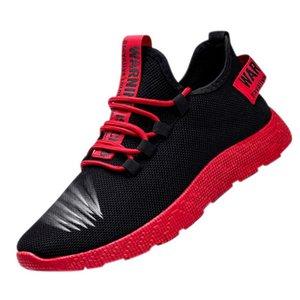 HEFLASHOR hombres transpirable zapatillas de deporte no deslizante Hombres vulcanizar zapatos masculinos acoplamiento del aire de Encaje zapatos casuales resistentes al desgaste Tenis Masculino