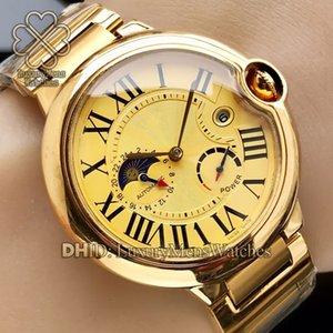 Erkek İzle Saatler W6920037 WSBB0025 W69009Z3 W2BB0004 W69012Z4 dört iğne ay fazı takvim otomatik hareketi montres de luxe saatler