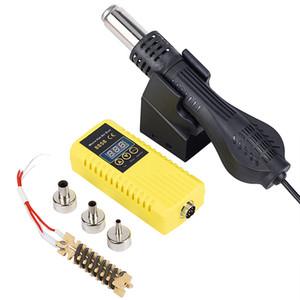 JCD Hot air gun 700W Micro Rework soldering station 8858 LED Digital Hair dryer for soldering Heat Gun welding repair tools