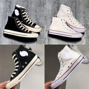2020 Splitlogo All Star 100 Hi Tops Canvas Japan Men Woman Black White Design Casual Shoes 35-44