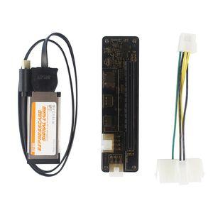 رخيصة المحمول الإرساء محطات اكسبريس EXP GDC 8.0 الرسومات محول كابل اكسبرس بطاقة ميناء الخارجية بطاقة تحويل الفيديو لأجهزة الكمبيوتر المحمول