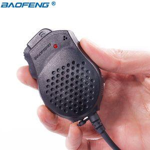 ellphones Telekomünikasyon Walkie Talkie Baofeng 2 Çift PTT Hoparlör Mikrofon İçin Kenwood TYT Pofung El 82 UV-82 UV 82 Portabl ...