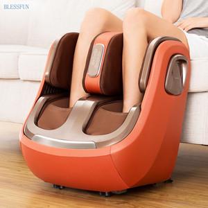 New elétrica perna e pé e joelho Pernas Massager Infrared Aquecimento Calf massagem Máquina Air Pressure Air Compression Massagem Eldership presente