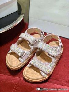 Son Renk Koleksiyonu Dokuma tüvit sandaletler, 20P Deri kadın Terlik Mules Çok renkli spor sandaletler süet