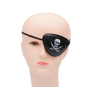Pirate глаз патч Череп Crossbone Halloween Party Favor сумка костюм Дети Хэллоуиной игрушка Ремесло подарки оптом