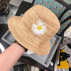 Diamond Straw Hats with Box High-grade Women Hats Outdoor Beach Travel Must Sun Straw Hats 2020 Explosion BB072