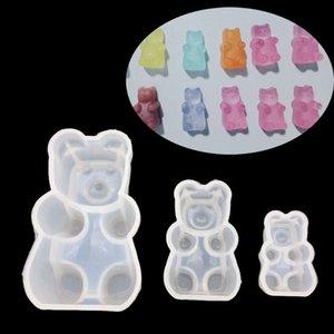 Günstige Schmuck Werkzeug Ausrüstungen Gummibärchen Süßigkeit Silikon-Form-Kuchen-Schokoladen-Fondant-Harz-Anhänger-Schmucksachen DIY