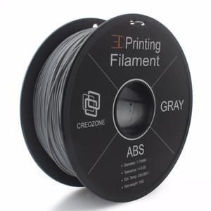 3D Yazıcı için Freeshipping Premium Kalite ABS Filament ABS Plastik 1. 75mm 1KS Biriktirme 3D Plastik Gri Renk