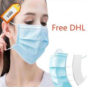 PD1F Face Tek Bireysel Toz Dusk facemasks Tasarımcı Masque koruyucu Ağız Mascherine Maschera Siyah Mavi Maske