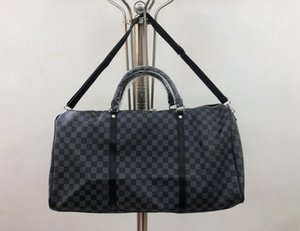 Коричневый цветок черный мужской вещевой мешок дорожная сумка открытый пакеты багажа дизайнер дорожная сумка для женщин 2020 новая мода вещевые сумки многоцветные m