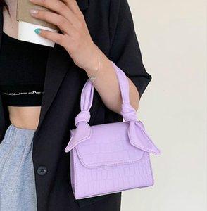 Designer Women's Bags, Foreign Luxury, 2020 Popular New Trendy Wild Handbag Shoulder Bag, Fashion Oblique Small Square Bag In Stock