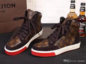 zapatos casuales de los nuevos hombres de moda los zapatos de lona zapatillas de deporte pato de goma 39-46 envío libre