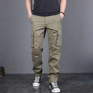 Men's Summer New Style Outdoor Multi-Pocket Overalls Pants Dutdoor Fast-Drying Breathable Trousers Sports Pant 5.16