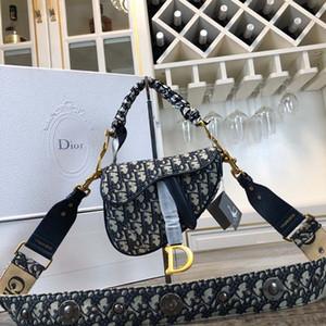 A última grande e médio estilo de moda de luxo designer de bolsas de luxo ombro populares alforje de couro saco de 0446
