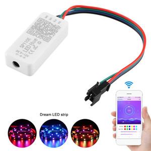 Edison2011 SP110E Bluetooth пиксельный световой контроллер WS2811 WS2812B ws2812 диммер SK6812 RGB RGBW APA102 WS2801 пикселей со светодиодной полосой IOS Android