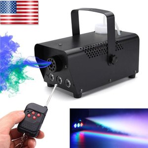 Excellent Mini LED Stage Smoke Lamp Mysterious Atmosphere Lamp Waterproof Stage Lighting Tool USA Warehouse Delivery Durable LED Fog Machine