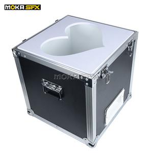 Этап Облако Maker Красочный пены Bubble Machine Измельчитель Fly Up Foam Облако кейс Упаковка для свадебного торжества