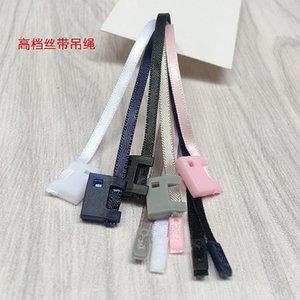 cinta cuerda 500PCS alto grado de cuerdas de bloqueo de sellado para la ropa etiqueta de la caída de la hebilla de la cadena de ropa / honda / TAG / cuerda a mano /