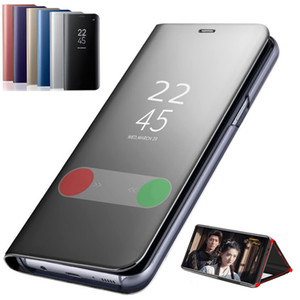 Smart Mirror Phone Case For Samsung Galaxy S20 Ultra 5G S20 Plus 5G Original Clear View Leather Case For Samsung Galaxy S20