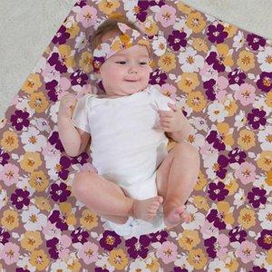 Mantas de dibujos animados bebé recién nacido multifunción de empañar Wrap fotografía apoya Home Entertainment bebé Decoración Accesorios