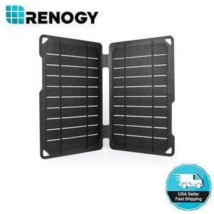 Renogy E. FLEX10 монокристаллическая портативная солнечная панель 10 Вт с USB-портом