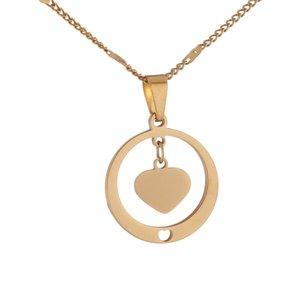 Нержавеющая сталь Смазливая сердца ожерелье ювелирных изделий Romantic Подруга Trendy подарок ювелирных изделий
