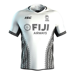 Fiji Airways 2020 Adult Home Away Fliegen Fidschianer Rugby-Jersey-Hemd Kit Maillot Camiseta Maglia Tops S-5XL