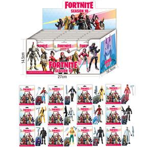 어린이를위한 카드 어린이 장난감 크리스마스 선물 새로운 Fortnite 8 9 10 시리즈 인형 액션 피규어