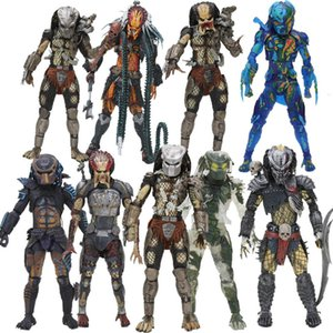 20cm NECA thermal fugitive Predator Series figure Predator Ultimate Jungle Hunter Jungle Demon Concrete Clan Leader figure Toys