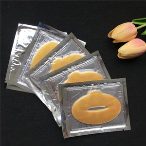Dropshipping new listing 10pcs  lot Collagen Bionic Crystal Lip Mask Contain Powerful Moisturizing make up face care