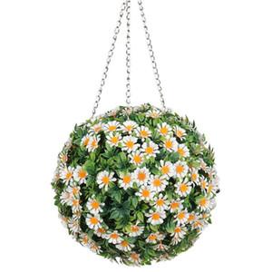 Nuovo artificiale Topiary sfere verdi di simulazione sfera Falso Grass Plant carrello Garden Party centro commerciale decorazione Wedding Decor