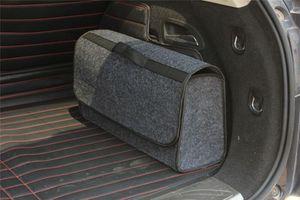 Borsa da organizzatore BAG SUV Storage Storage Pieghevole Caddy Bin Collapse Cargo Car Truck Tool RVLJB
