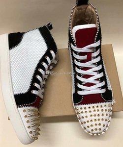 Hightop Sneaker aus Wildleder mit stacheligen Toe Rantus Orlato Lovers Designer gute Qualität beiläufige Schuh-Turnschuhe Wholesale freies Verschiffen