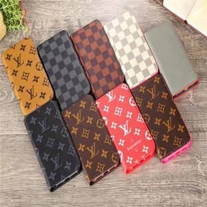 Novo caso telefone flip couro de luxo para iphone 6 caso 11 11PROMAX XSMAX XR 7 8 mais X XR 11 PRO MAX para o transporte livre caso de telefone marca carteira