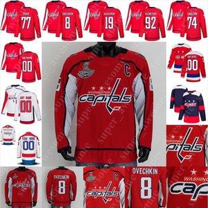 Washington Capitals Jersey Nick Jensen Garnet Hathaway Richard Panik Jonas Siegenthaler Tyler Lewington Ilya Samsonov