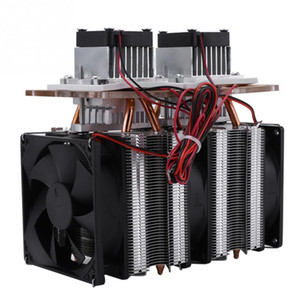 Thermoelectric Peltier Refrigeration 144W Dual-Core Semiconductor Refrigeration Peltier Air Cooling Dehumidification Equipment
