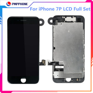 Plena pantalla digitalizador Asamblea táctil para el iPhone 7G 7plus 8G 8Plus pantalla de LCD + altavoz + cámara frontal
