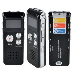 N28 recargable 4GB 8GB Mini USB Flash Digital Audio Sound Grabador de voz Pluma con reproductor de MP3 650hR Teléfono Dicthone