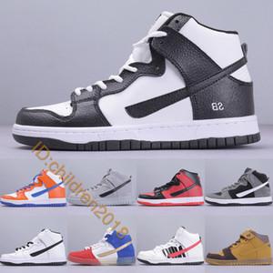Dunk sb alta skate sapatos para homens mulheres 2019 designer futuro tribunal obsidian danny supa marrom pacote outdoor casual sapatilhas tamanho 36-45