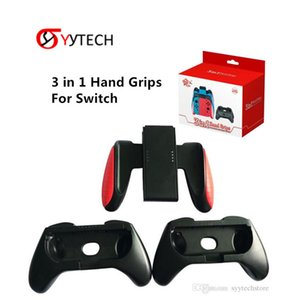SYYTECH 3 في 1 Comfort Grip Holder Cover Hand Grips Handle Gamepad Grip Kit لنينتندو التبديل