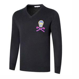 Yeni Spor Gömlek Sonbahar kış MARK LONA Tam kollu Golf Triko 2color Golf giysileri S-XXL sporindir seçim Boş Golf gömlek ücretsiz nakliye