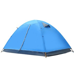Outdoor Tent Mountaineering Camping Camping Double Season Wild Thick Waterproof Rainproof Ultra Light Double Layer Equipment