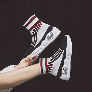 sales triple s designer shoes for Hot women platform sneakers black white red womens trainers fashion sneaker female casual Sock Boots